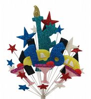 New York 16th birthday cake topper decoration - free postage